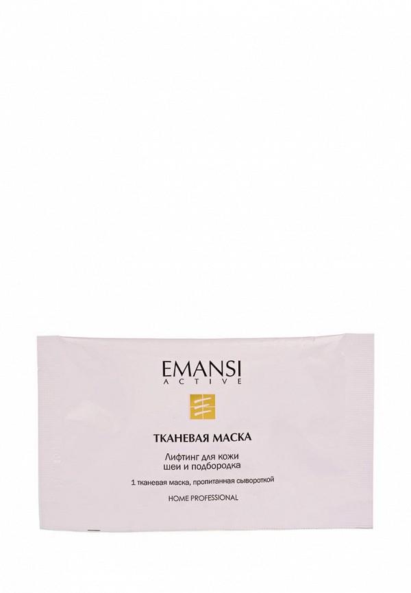 Маска для лица Emansi лифтинг для кожи шеи и подбородка, 8 процедур