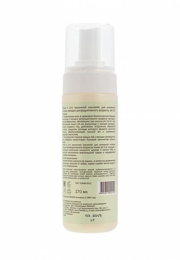 Средство для интимной гигиены Emansi с L(+) молочной кислотой рН 3,5, Skins solution, 170 мл