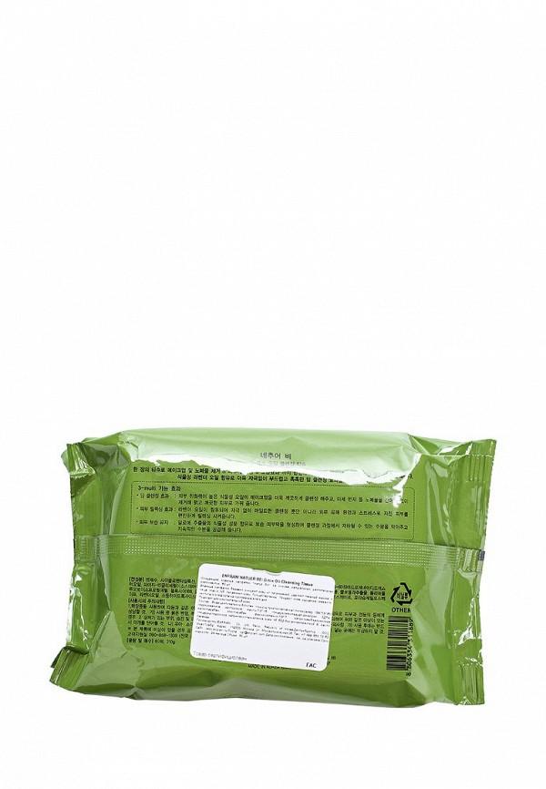 Салфетки для снятия макияжа Enprani Очищающие влажные Natuer Be на основе натуральных растительных компонентов 60 шт
