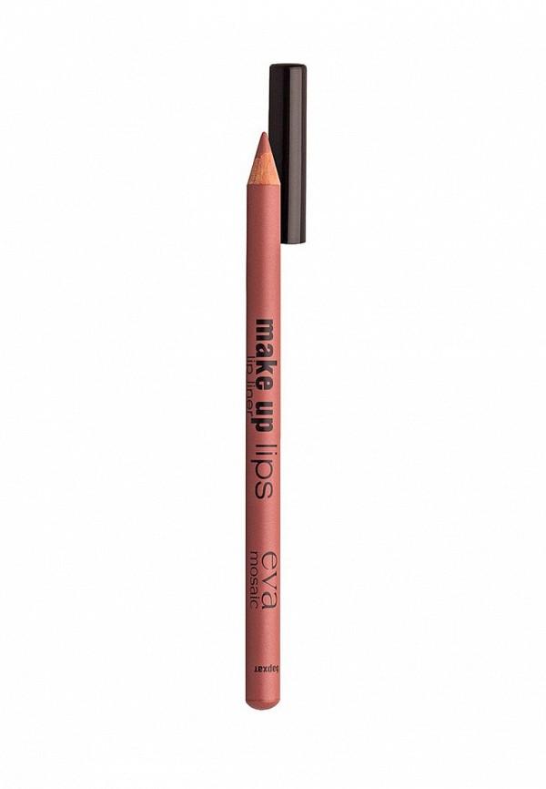 Карандаш для губ Eva Mosaic Make Up Lips, 1,1 г, Бархат