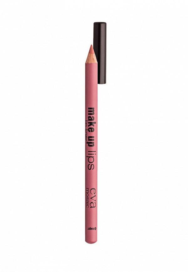 Карандаш для губ Eva Mosaic Make Up Lips, 1,1 г, Флирт