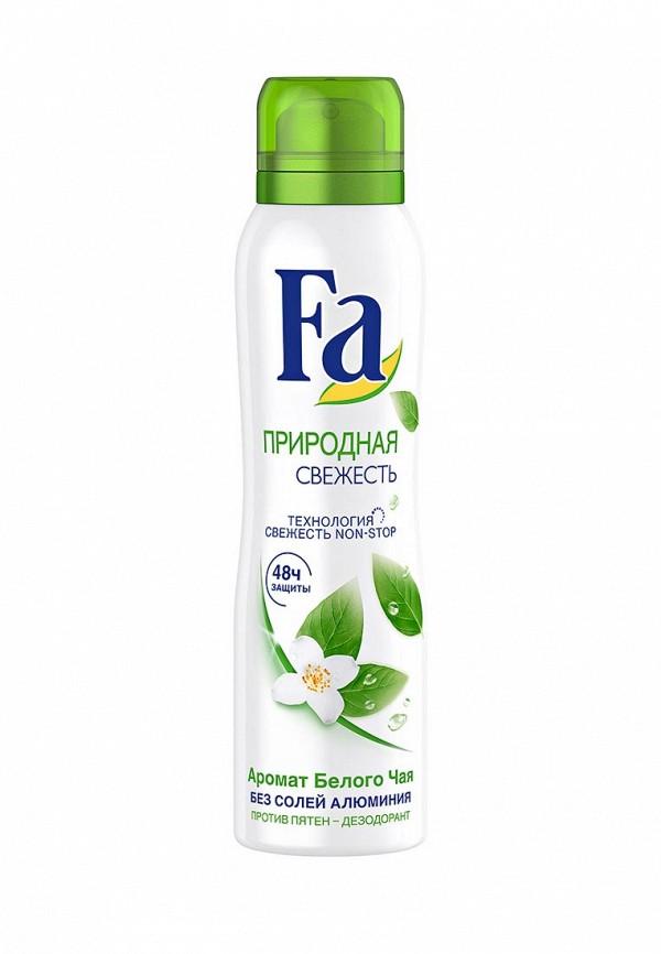 Дезодорант Fa аэрозоль Природная свежесть Белый чай, 150 мл