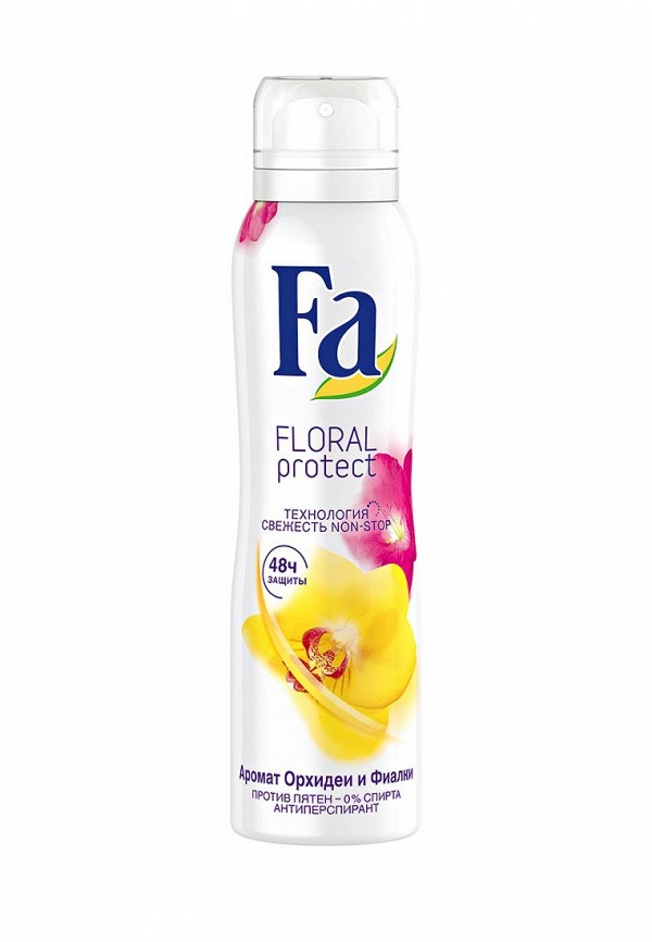 Дезодорант Fa антиперспирант аэрозоль Floral Protect Орхидея  Фиалка, 150 мл