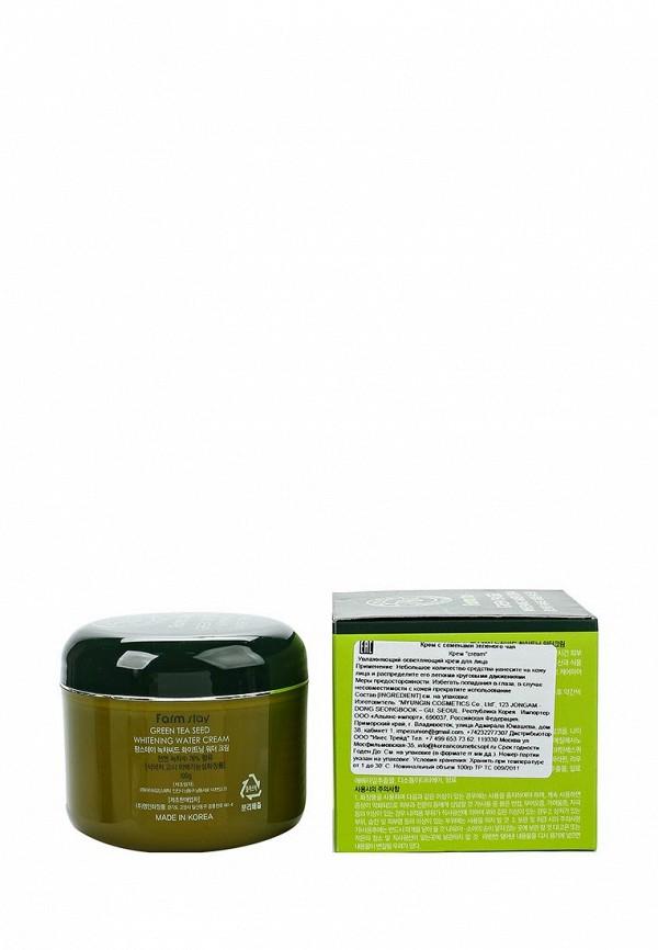 Крем Farm Stay Увлажняющий осветляющий с семенами зеленого чая, 100 гр