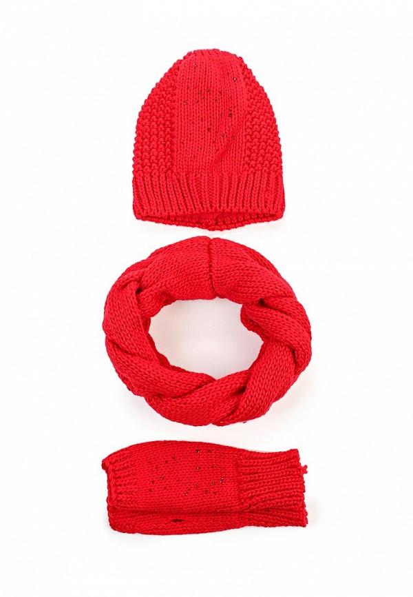 Комплект шапка, шарф и митенки Fete