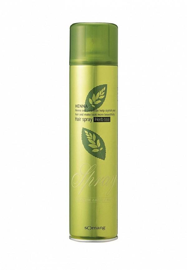 Лак для волос Flor de Man Укрепляющий Henna Травяной чай, 300 мл