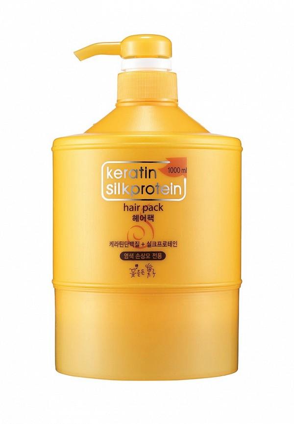 Маска для волос Flor de Man Питательная с протеинами шелка Keratin 1000 мл