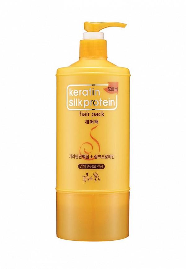 Маска для волос Flor de Man Питательная с протеинами шелка Keratin 500 мл