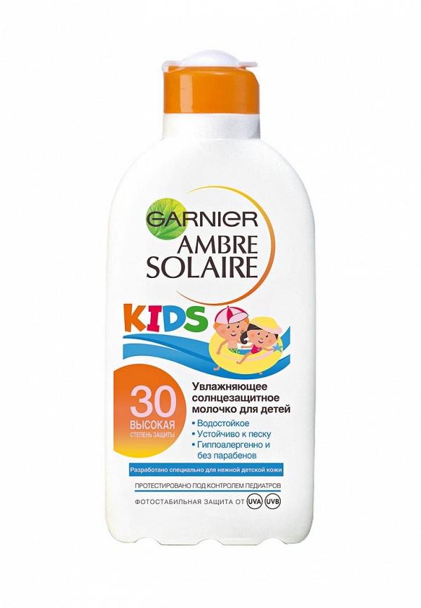 Молочко для тела Garnier Детское Ambre Solaire Непобедимое, солнцезащитное увлажняющее SPF30 200 мл