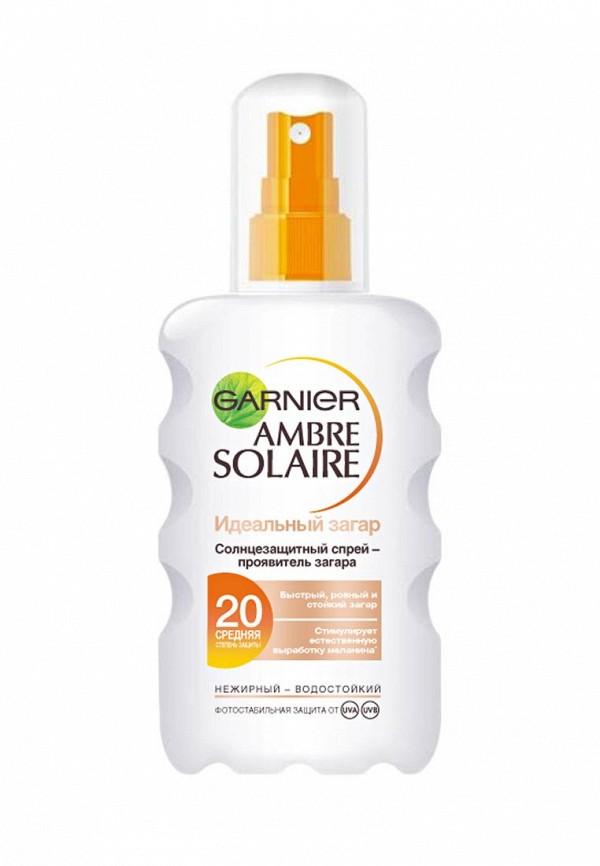 Спрей Garnier Ambre Solaire Идеальный загар солнцезащитный SPF20 200 мл