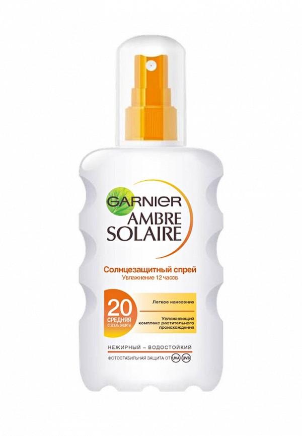 Спрей Garnier Ambre Solaire солнцезащитный для светлой уже загорелой кожи SPF20 200 мл
