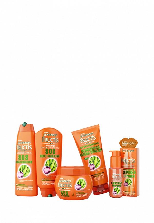 Бальзам Garnier Бальзам-ополаскиватель Fructis, SOS восстановление, укрепляющий, для секущихся и поврежденных волос, 200 мл