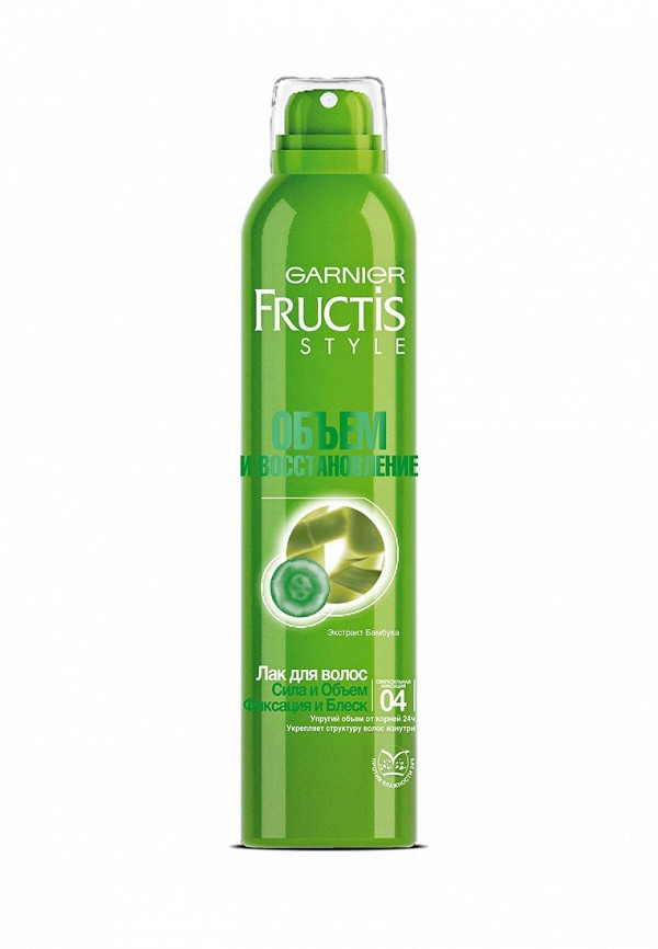 Лак для волос Garnier Fructis Style Объем и восстановление, 250 мл