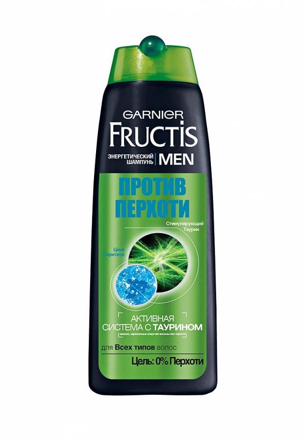 Шампунь Garnier Fructis Men, Против перхоти, для всех типов волос, 250 мл