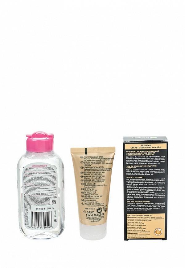 Набор Garnier Мицеллярная вода для всех типов кожи 125 мл, BB-крем Секрет Совершенства светло-бежевый