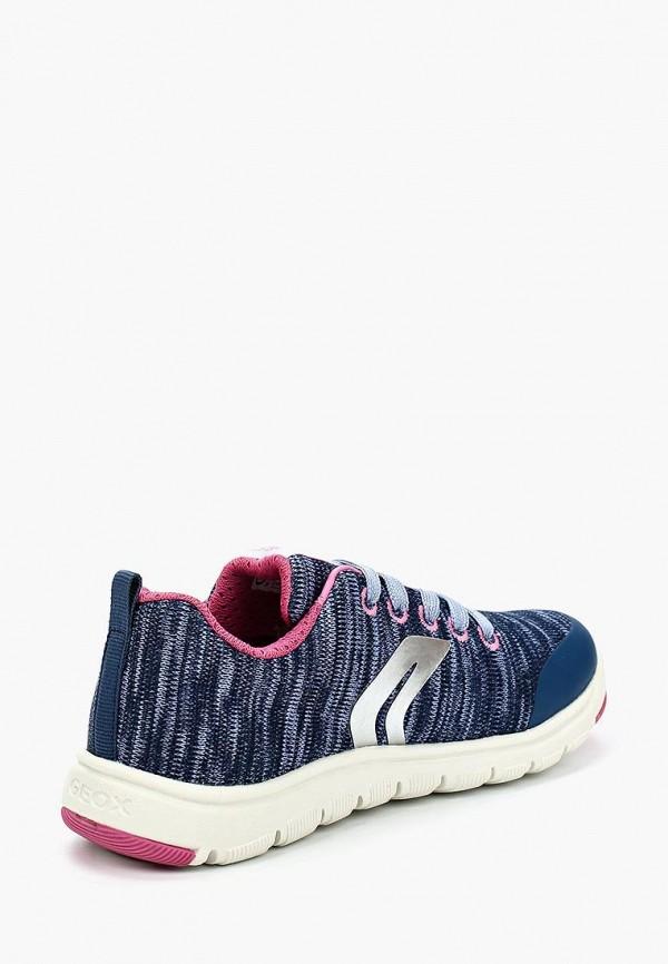 Кроссовки для девочки Geox J743RC000ZIC4117 Фото 2