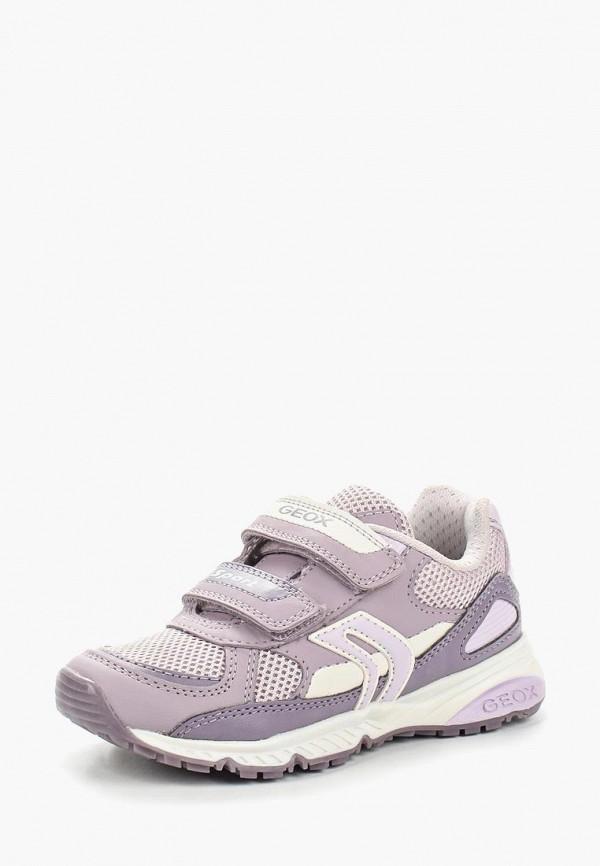 Кроссовки для девочки Geox J8211B0BC14CL88S