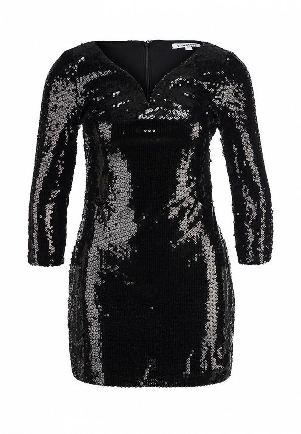 Маленькое черное платье в пайетках GLAMOROUS