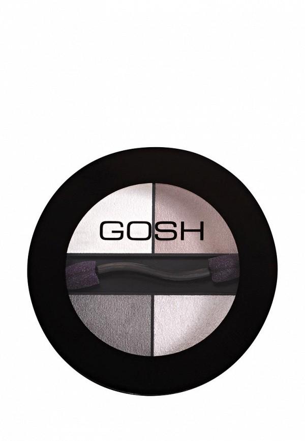Тени для век Gosh Quattro, 3 г, 024