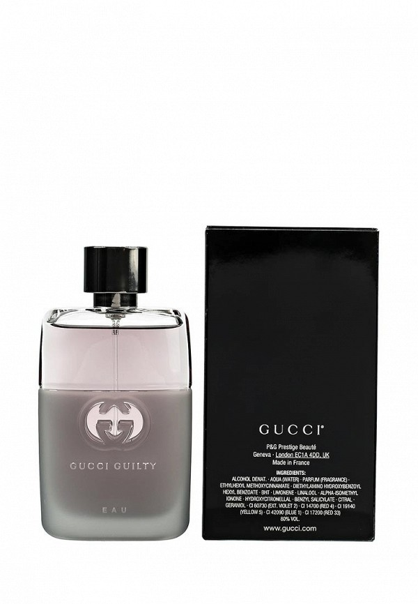 Туалетная вода Gucci Guilty Eau Man 50 мл