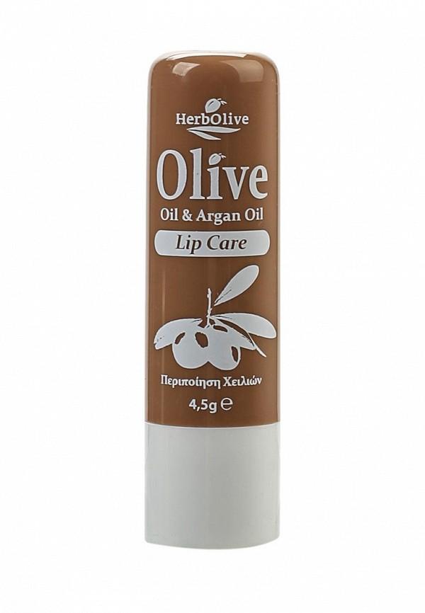 Бальзам для губ HerbOlive гигиенический с маслом арганы, 4,5 гр