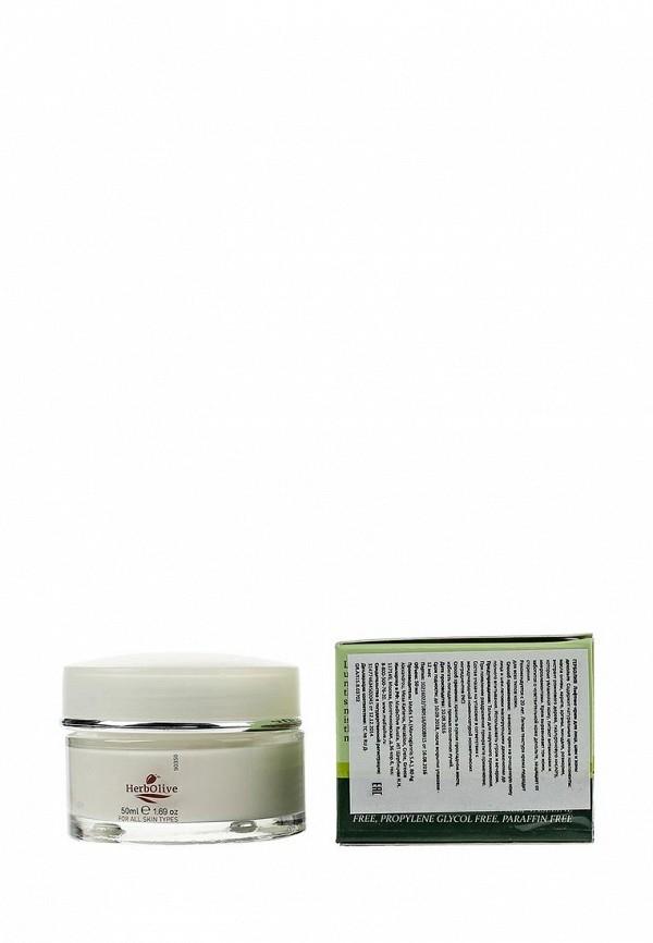 Крем HerbOlive для лица, шеи и зоны декольте,  50 мл