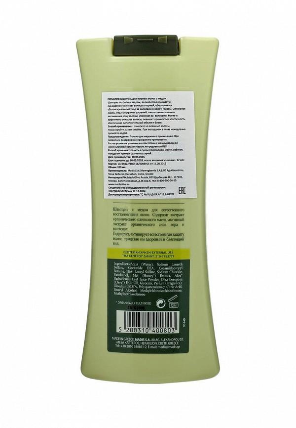 Шампунь HerbOlive для жирных волос с медом 200мл