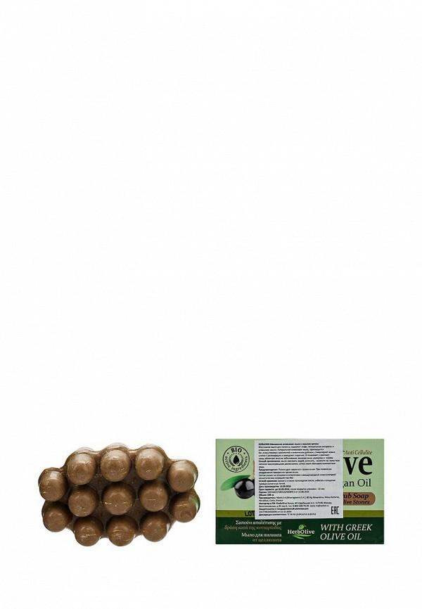 Мыло HerbOlive Массажное для пилинга, с маслом арганы, против целлюлита, 100 гр