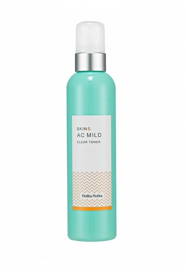 Тонер Holika Holika Очищающий Skin and AC Mild 245 мл