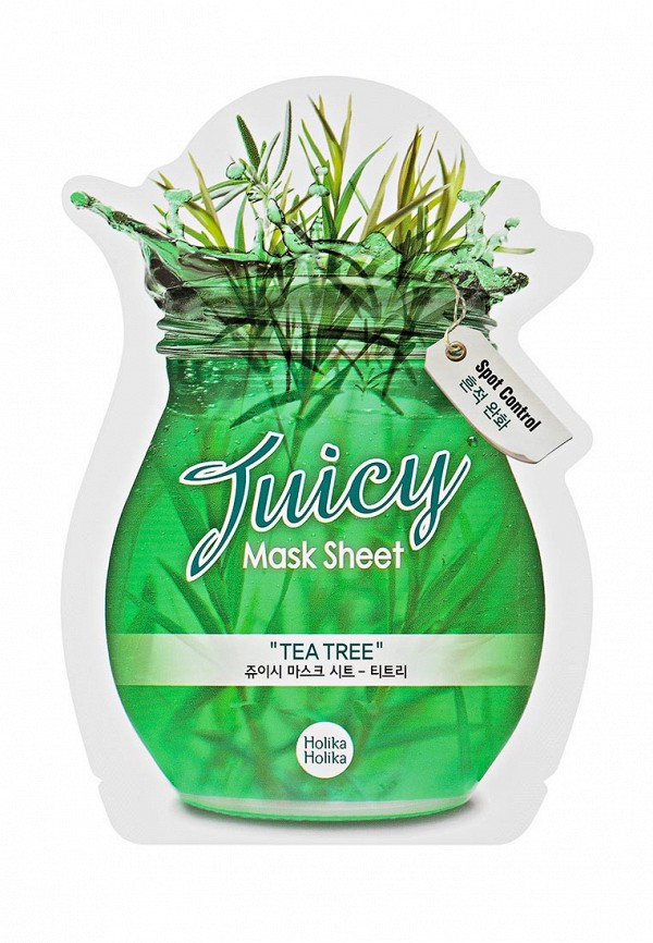 Маска Holika Holika тканевая для лица Juicy Mask чайное дерево