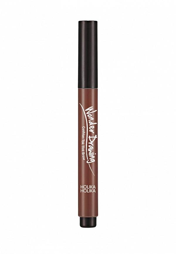 Карандаш для бровей Holika Holika кушон Wonder Drawing тон 02 темно-коричневый