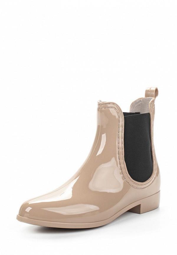 Резиновые полусапоги Ideal Shoes T-8448