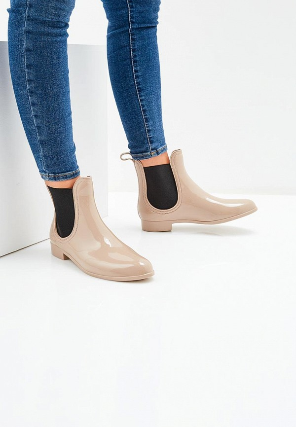 Резиновые полусапоги Ideal Shoes T-8448 Фото 5