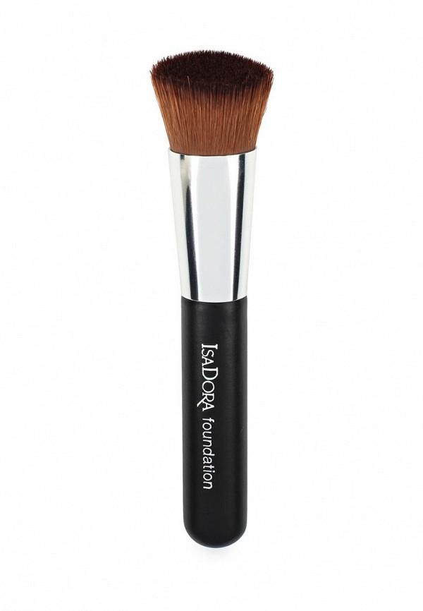 Кисть для лица Isadora для тонального крема и пудры Perfect Face Brush