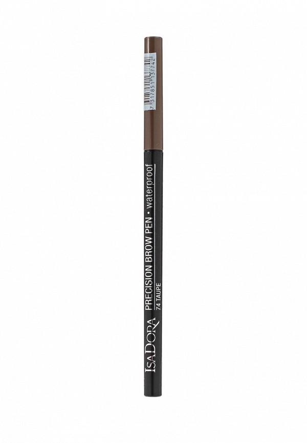 Карандаш для бровей Isadora Precision Brow Pen Waterproof 74, 0,09гр