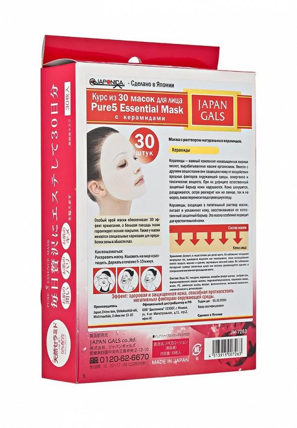 Курс масок Japan Gals Маска с натуральными керамидами Pure5 Essential 30 шт