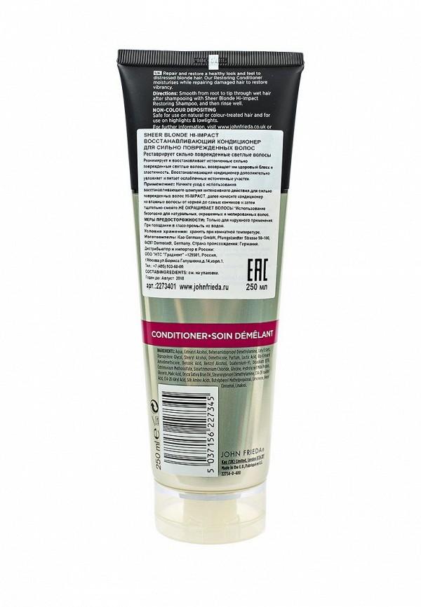 Кондиционер для волос John Frieda Sheer Blonde HI-IMPACT Восстанавливающий для сильно поврежденных , 250 мл