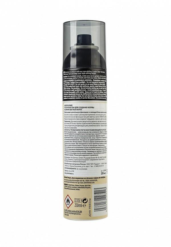 Лак для волос John Frieda Sheer Blonde Прозрачный для создания формы и сияния светлых волос, 250 мл