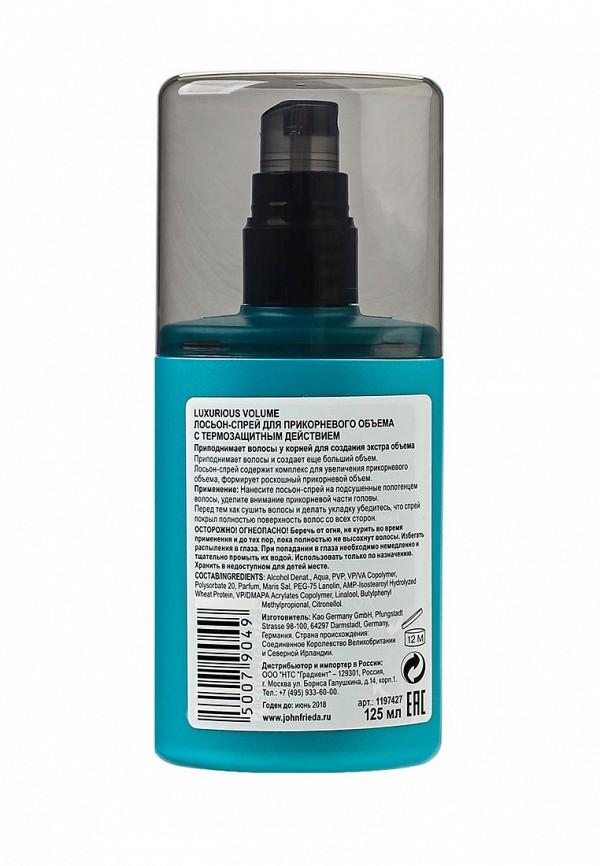 Лосьон-спрей John Frieda Luxurious Volume для прикорневого объема с термозащитным действием, 125 мл