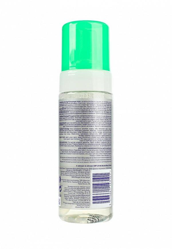 Пенка Johnson  Johnson CleanClear Advantage Очищающая с экстрактом алоэ, 150 мл