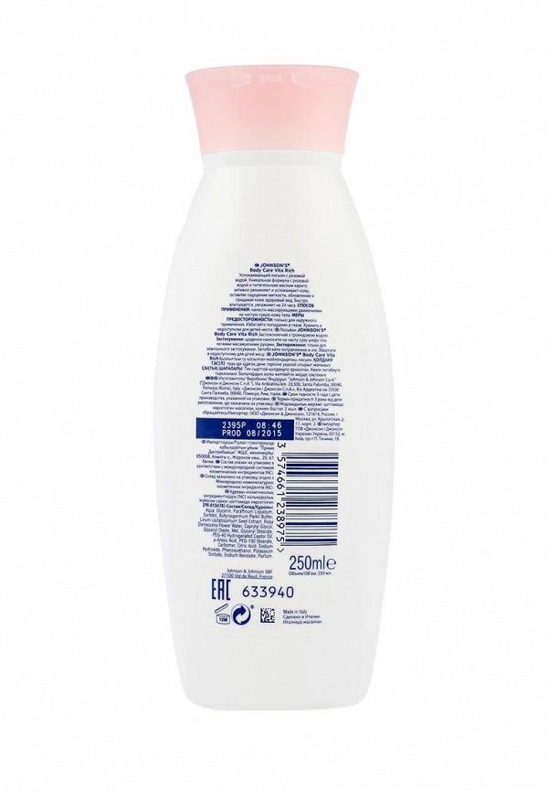 Лосьон Johnson  Johnson Johnsons Body Care VITA-RICH Успокаивающий с розовой водой, 250 мл