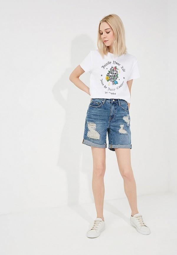 Шорты джинсовые Juicy by Juicy Couture JWFWB120553 Фото 2