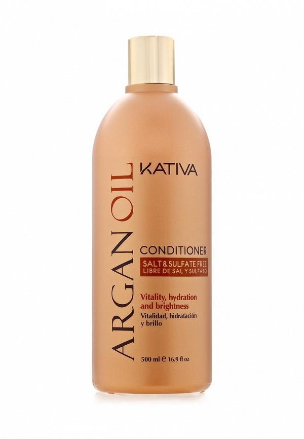 Кондиционер Kativa Увлажняющий для волос с маслом Арганы 500 мл