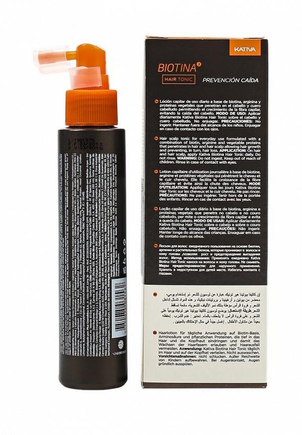 Тоник для волос Kativa BIOTINA против выпадения с биотином, 100 мл
