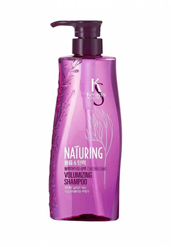 Шампунь Kerasys для волос Naturing ОБЪЕМ И ЭЛАСТИЧНОСТЬ с морскими водорослями