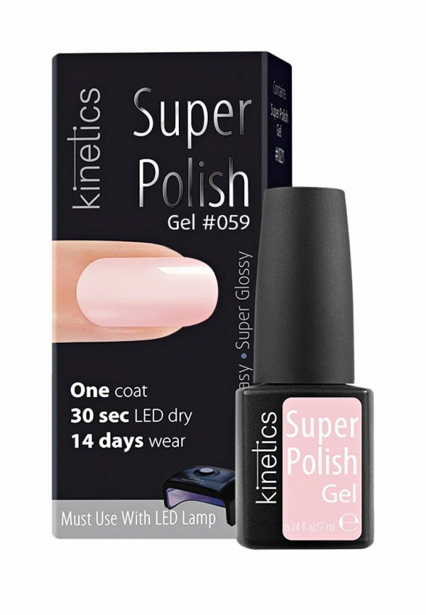 Гель-лак для ногтей Kinetics Однофазный Super Polish (059)