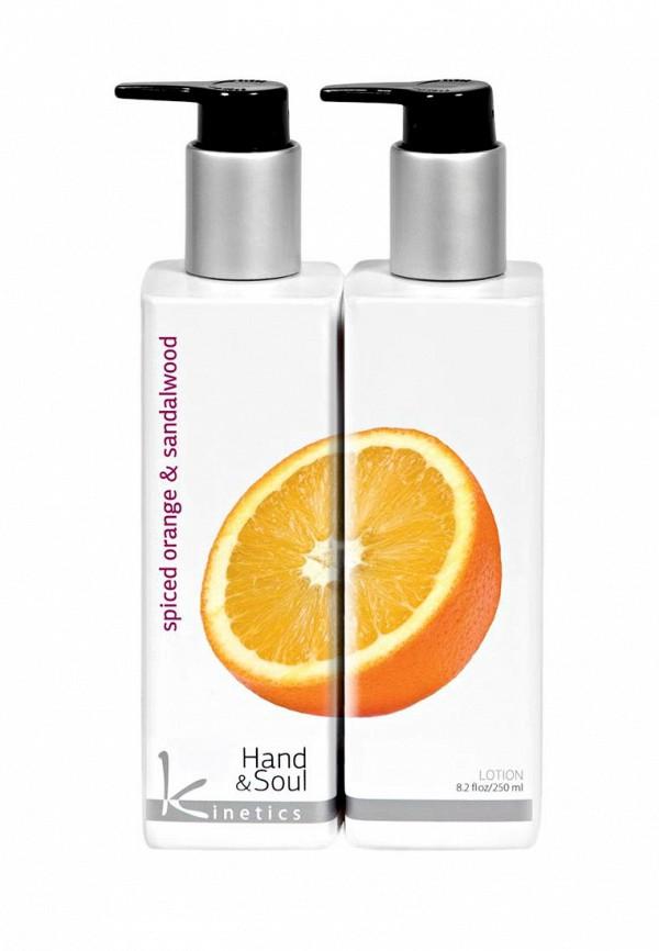 Лосьон Kinetics увлажняющий Пряный апельсин и Сандаловое дерево 250 мл