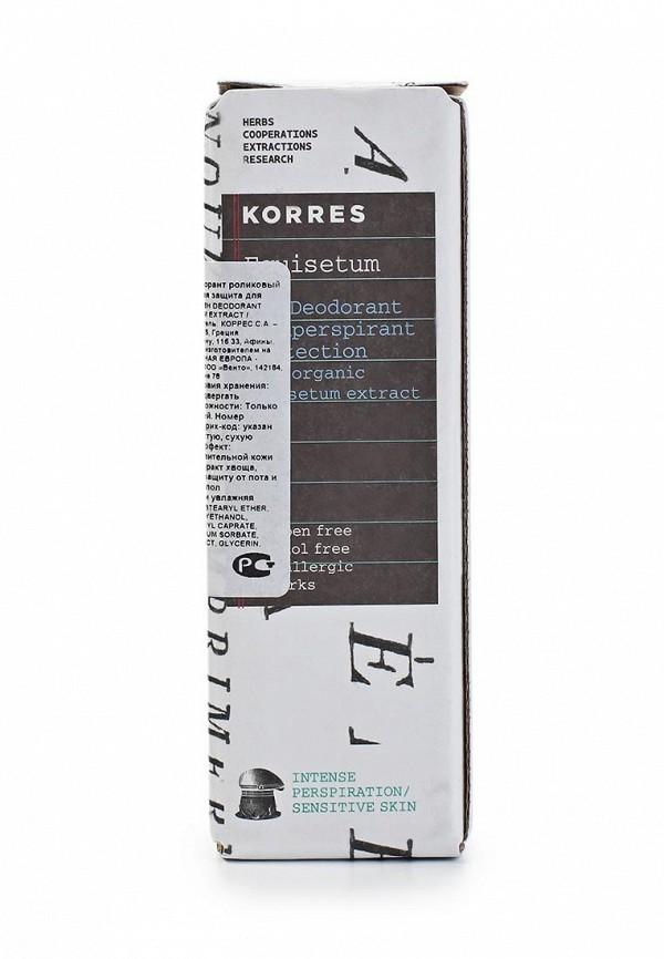 Дезодорант Korres с экстрактом хвоща интенсивная защита для чувствительной кожи 48 часов