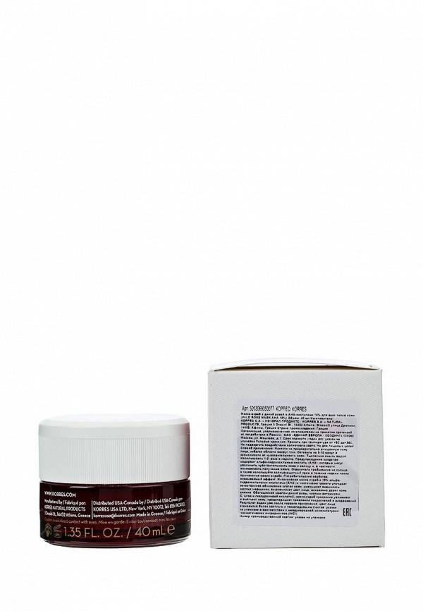 Скраб Korres скраб с дикой розой и aha-кислотами 10% для всех типов кожи 40 мл