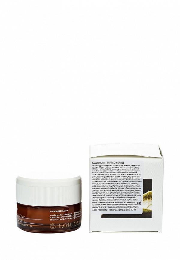 Крем Korres ночной укрепляющий против морщин с каштаном для всех типов кожи 40 мл